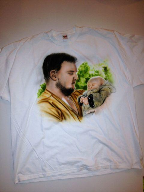 Airbrush T-Shirts - Kundenauftrag