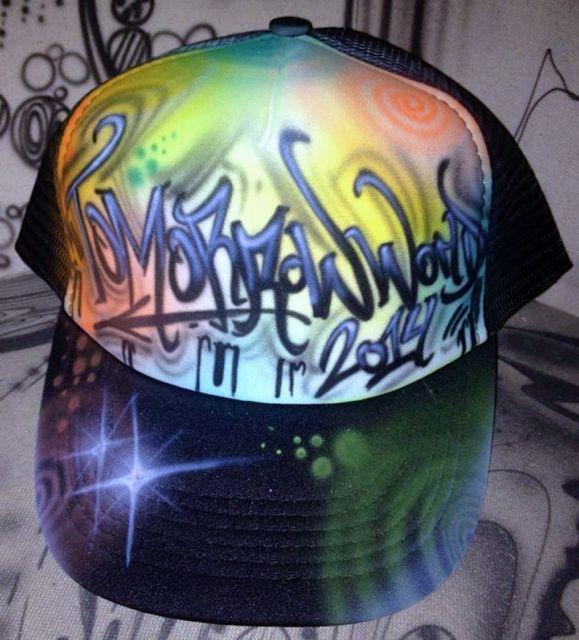 Airbrush Cap - Kundenauftrag