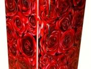 Kühlschrank im Rosen Design