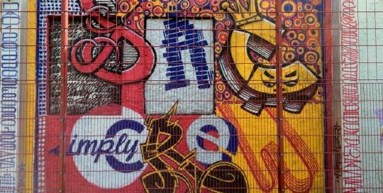 Freie Graffiti Wandgestaltung