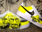 Airbrush auf Nike Air Force 1