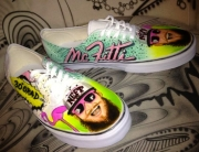 Airbrush auf Vans Slip On
