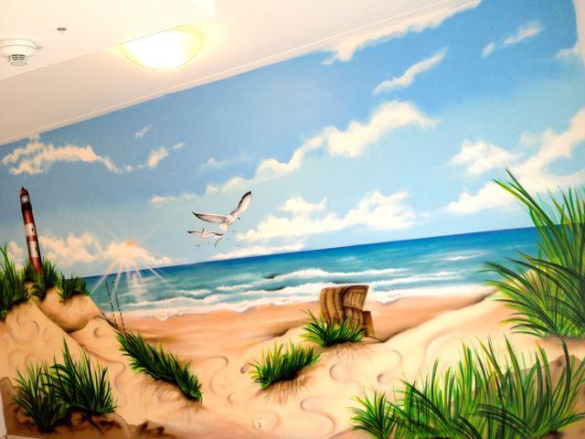 Graffiti / Airbrush Gestaltung in einem Seniorenheim in Dortmund