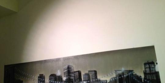 Graffiti Gestaltung eines Bueros in Koeln